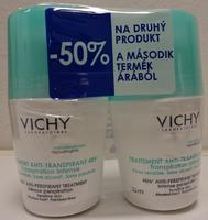 Vichy Deo Roll-on intense 48h - antiperspirant proti nadměrnému pocení DUOPACK 2X50ml