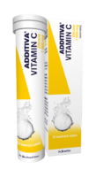 ADDITIVA VITAMIN C ZITRONE TBL EFF 20