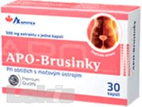 APO-Brusinky 500mg 30cps.