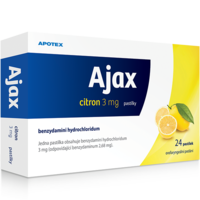 AJAX CITRON 3 MG PAS.24