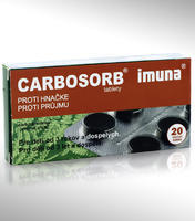 CARBOSORB TBL 20X320MG-BLISTR