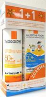 La Roche-Posay Anthelios SPF50 sprej 200ml + SPF50 mléko pro děti 100ml DUOPACK