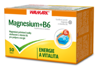 WALMARK MAGNESIUM + B6 TBL.50