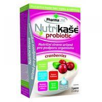 NUTRIKAŠE PROBIOTIC CRANBERRIES 180G (3X60G)
