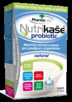 NUTRIKAŠE PROBIOTIC - NATURAL 180G (3X60G)