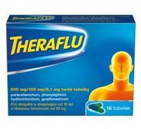 THERAFLU 500MG/100MG/6,1MG CPS DUR 16