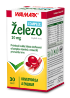 WALMARK ŽELEZO KOMPLEX 20MG TBL.30