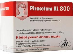 PIRACETAM AL 60X800 POR TBL FLM60X800MG