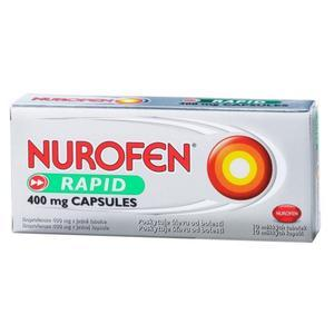 Nurofen Rapid 400mg Capsules por.cps.mol.10x400mg