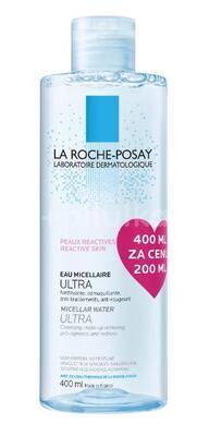 LA ROCHE MICELLAR REACTIVE VODA 400ml ZA CENU 200ML - 1