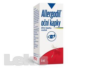 ALLERGODIL OČNÍ KAPKY OPH GTT SOL 1X6ML0.05%