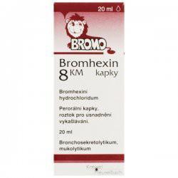 BROMHEXIN 8 KM GTT 20ML 8MG/ML