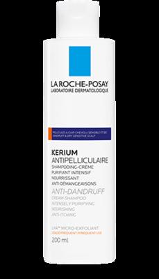 La Roche-Posay Kerium krémový šampon na suché lupy 200ml - 1