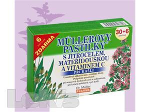 PASTILKY MULLEROVY S JITROC.+MATER.30+6ks