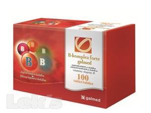 GALMED B KOMPLEX FORTE tbl 100