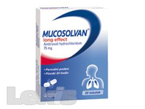 MUCOSOLVAN LONG EFFECT POR CPS PRO 20X75MG