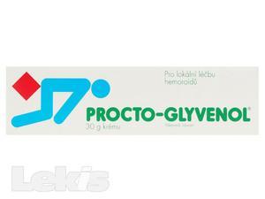 PROCTO-GLYVENOL 50MG/G+20MG/G RCT CRM 1X30G
