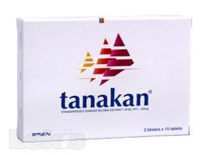 TANAKAN TBL OBD 90X40MG