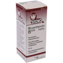 BROMHEXIN 8 KM GTT 1X50ML 8MG/ML