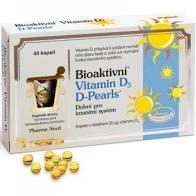 Bioaktivní Vitamin D3 D Pearls cps.40 - 1
