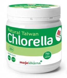Chlorella tbl. 750 z mojí lékárny