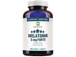 Clinical Melatonin Forte 5mg tbl.100 - 1