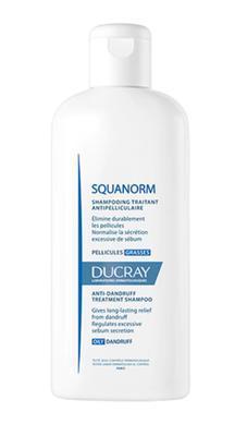 DUCRAY Squanorm grass shamp 200ml - šampon na mastné lupy - 1