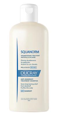 DUCRAY Squanorm sec shamp 200ml - šampon na suché lupy - 1
