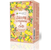 Megafyt Ovocný Zázvor s citrónem a chilli 20x2g - 1