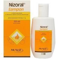 NIZORAL ŠAMPON 2% 100 ML - 1