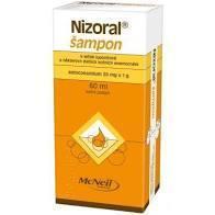 NIZORAL ŠAMPON 2% 60 ML - 1