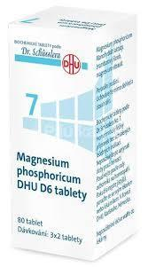 NO. 7 MAGNESIUM PHOSPHORICUM DHU D6 80 TABLET - Schüsslerovy soli - 1