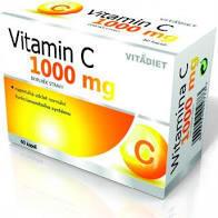 Vitamin C 1000mg Vitadiet cps 60 - 1