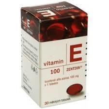 VITAMIN E 100 ZENTIVA CPS 30 X 100MG - 1