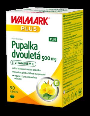Walmark Pupalka dvouletá s vitamínem E 500mg 90 tobolek