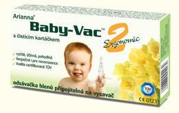 Odsávačka hlenů Arriana Baby-Vac 2 s čistícím kartáčkem