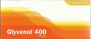 GLYVENOL 400 POR CPS MOL 60X400MG