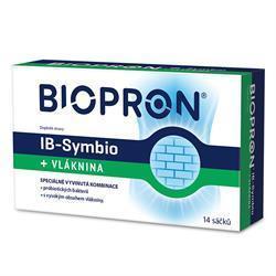 BIOPRON IB-SYMBIO +VLÁKNINA 14 SÁČKŮ