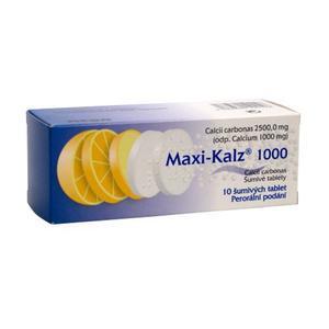 MAXI-KALZ 1000 1000MG TBL EFF 10