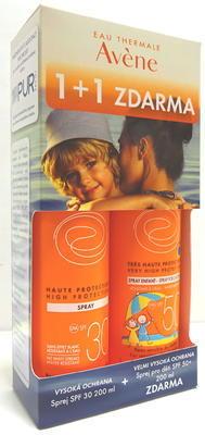 Avene Sun DUOPACK SPF50+ sprej pro děti 200ml + SPF30 sprej 200ml