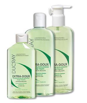 DUCRAY Extra-doux šampon pro časté mytí 400ml