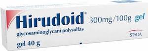 Hirudoid gel 1x40g - 1