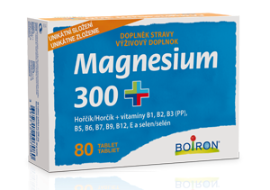 MAGNESIUM 300+ TBL.80 BOIRON - 1