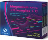 Magnesium 400 mg + B komplex + C 30 sáčků Galmed - 1