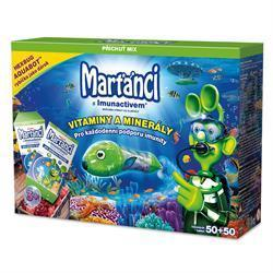 Walmark Marťánci s Imunactivem Aquabot 50+50