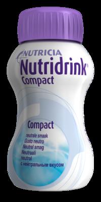 NUTRIDRINK COMPACT NEUTRAL POR SOL 4X125ML
