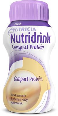 Nutridrink Compact Protein s přích.Kávy por.sol.4x125ml