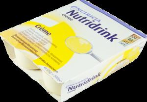 Nutridrink Creme s banánovou příchutí 4x125ml