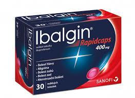 IBALGIN RAPIDCAPS 400MG CPS.MOL.30X400MG