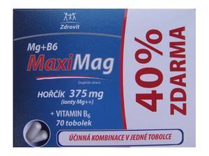 ZDROVIT MG+B6 TOBOLKY 50+20 40% ZDARMA